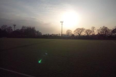 レッズランド人工芝グラウンド2010年12月26日