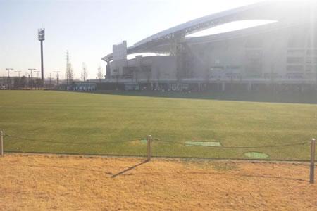 埼玉スタジアム第2グラウンド2010年12月28日