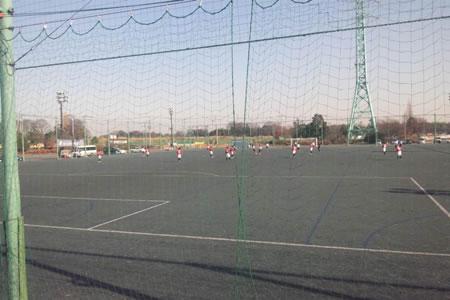埼玉スタジアム第4グラウンド2010年12月28日