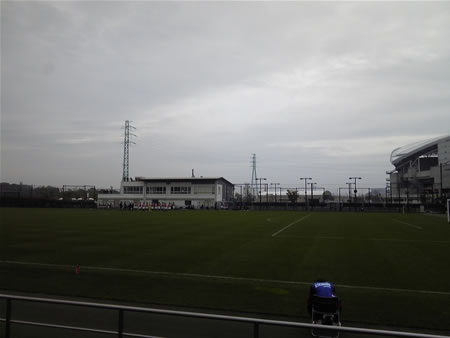 埼スタ第2グラウンド2010年10月24日