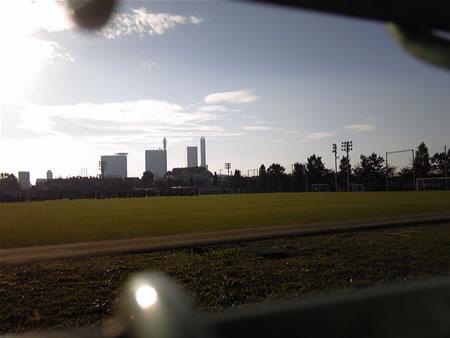 大原サッカー場2010年11月7日
