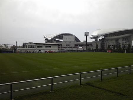 埼玉スタジアム第2グラウンド2010年10月16日