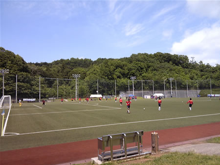 産業能率大学湘南キャンパス第2グラウンドサッカー場