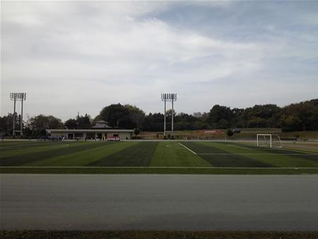 群馬県大胡総合運動公園サッカー場