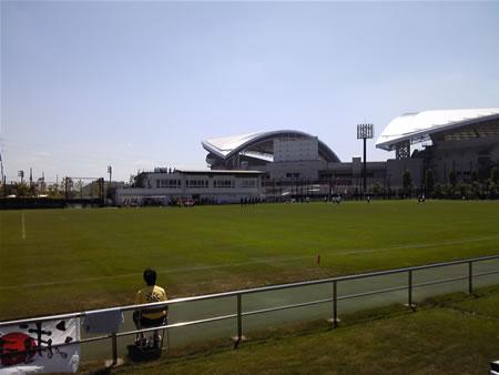 埼玉スタジアム第2グラウンド2010年9月4日