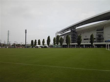 埼玉スタジアム第3グラウンド2010年9月12日