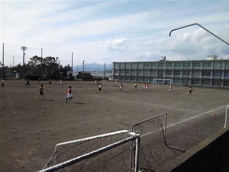 旧東海大一高校サッカー場
