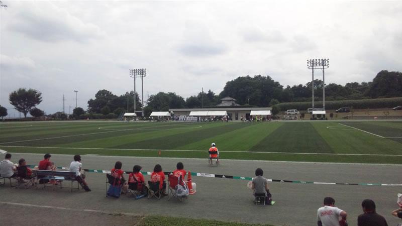 大胡総合運動公園陸上競技・サッカー場2011年7月24日