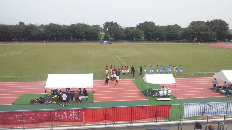 前橋総合運動公園陸上競技・サッカー場2011年7月26日