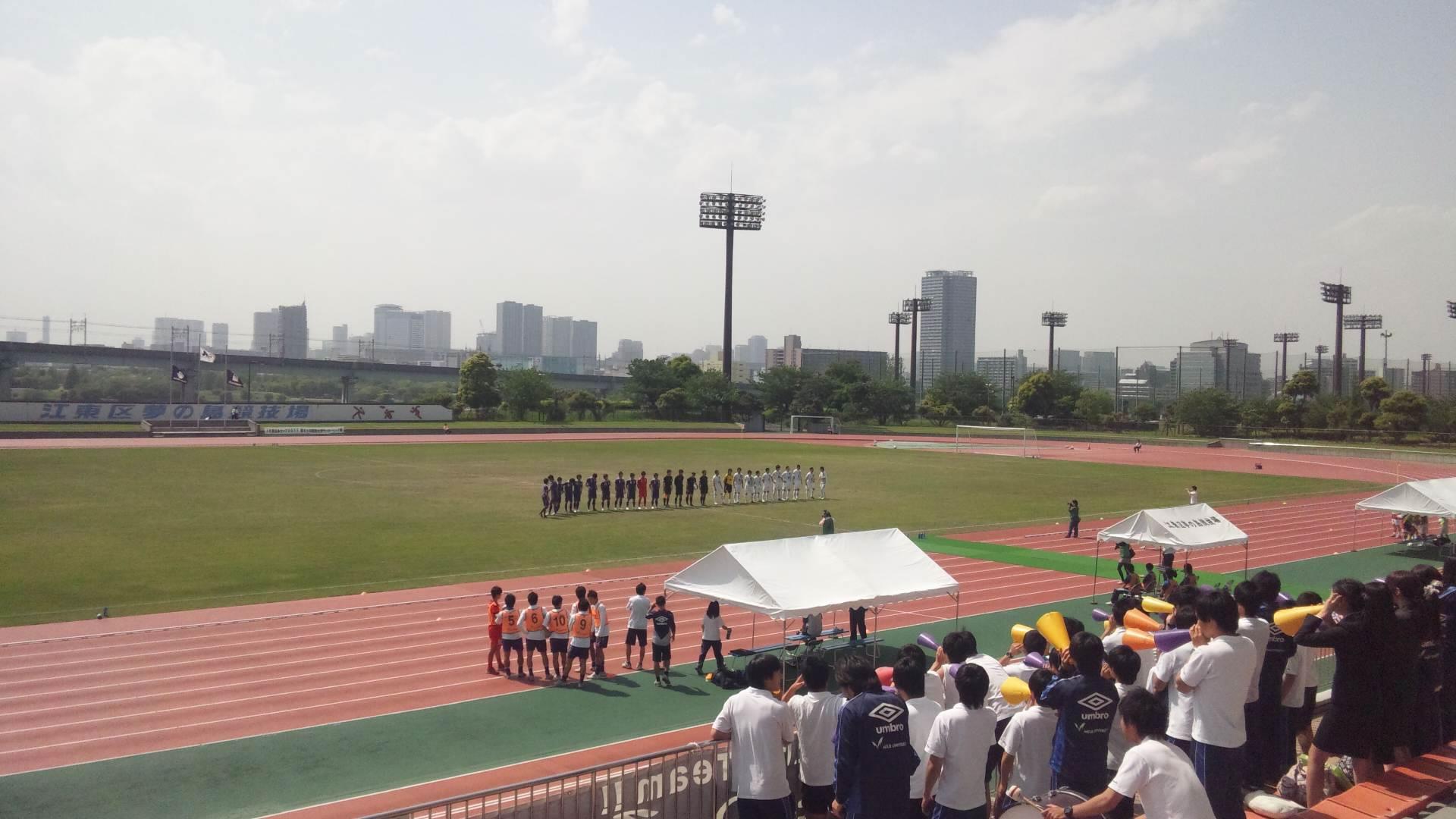 江東区夢の島競技場2011年5月14日