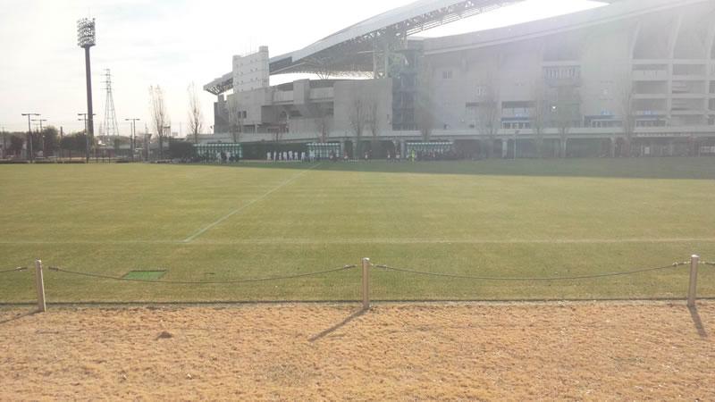 埼玉スタジアム第3グラウンド2011年12月28日