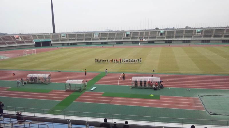 熊谷スポーツ文化公園陸上競技場2011年10月30日