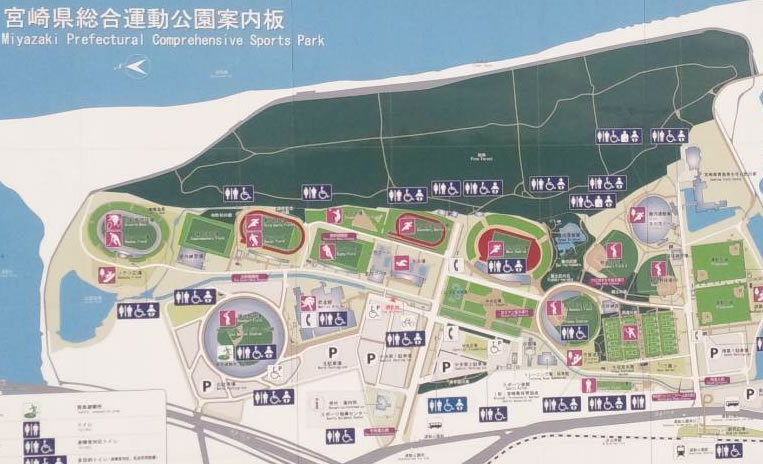 宮崎県総合運動公園ラグビー場