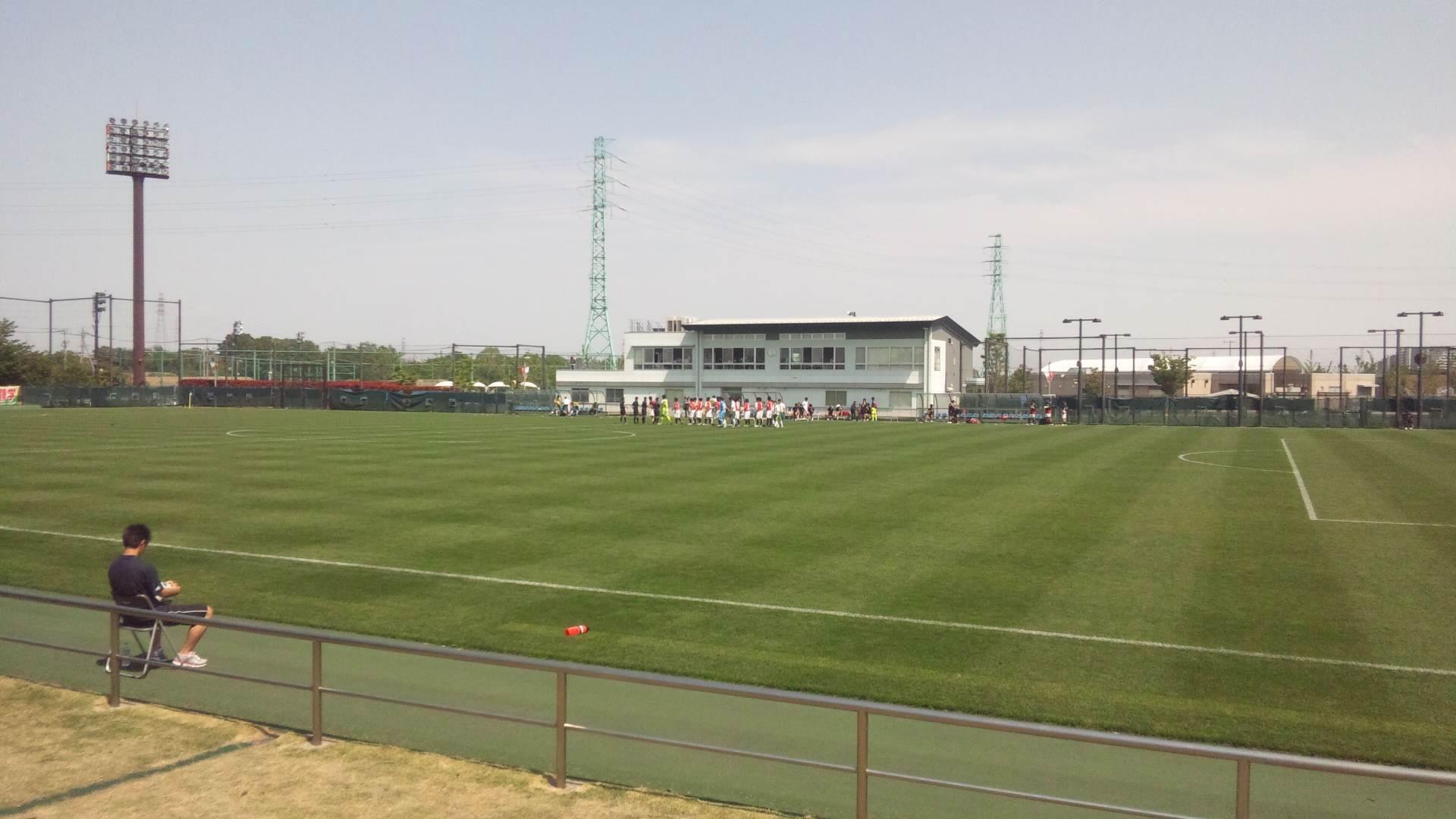 埼玉スタジアム第2グラウンド2011年5月8日