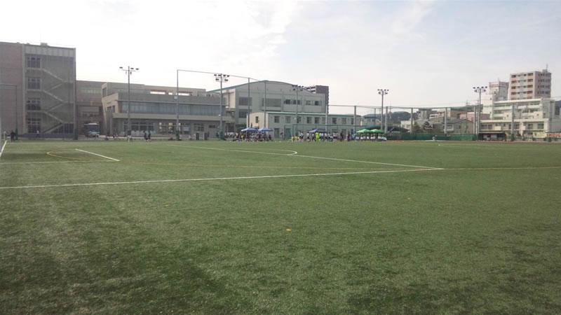 静岡学園高校グラウンド2011年10月2日