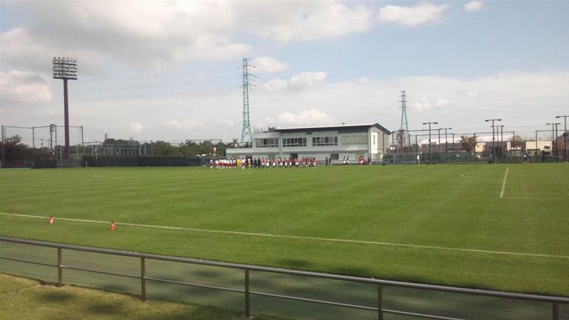 埼玉スタジアム第2グラウンド2011年10月16日