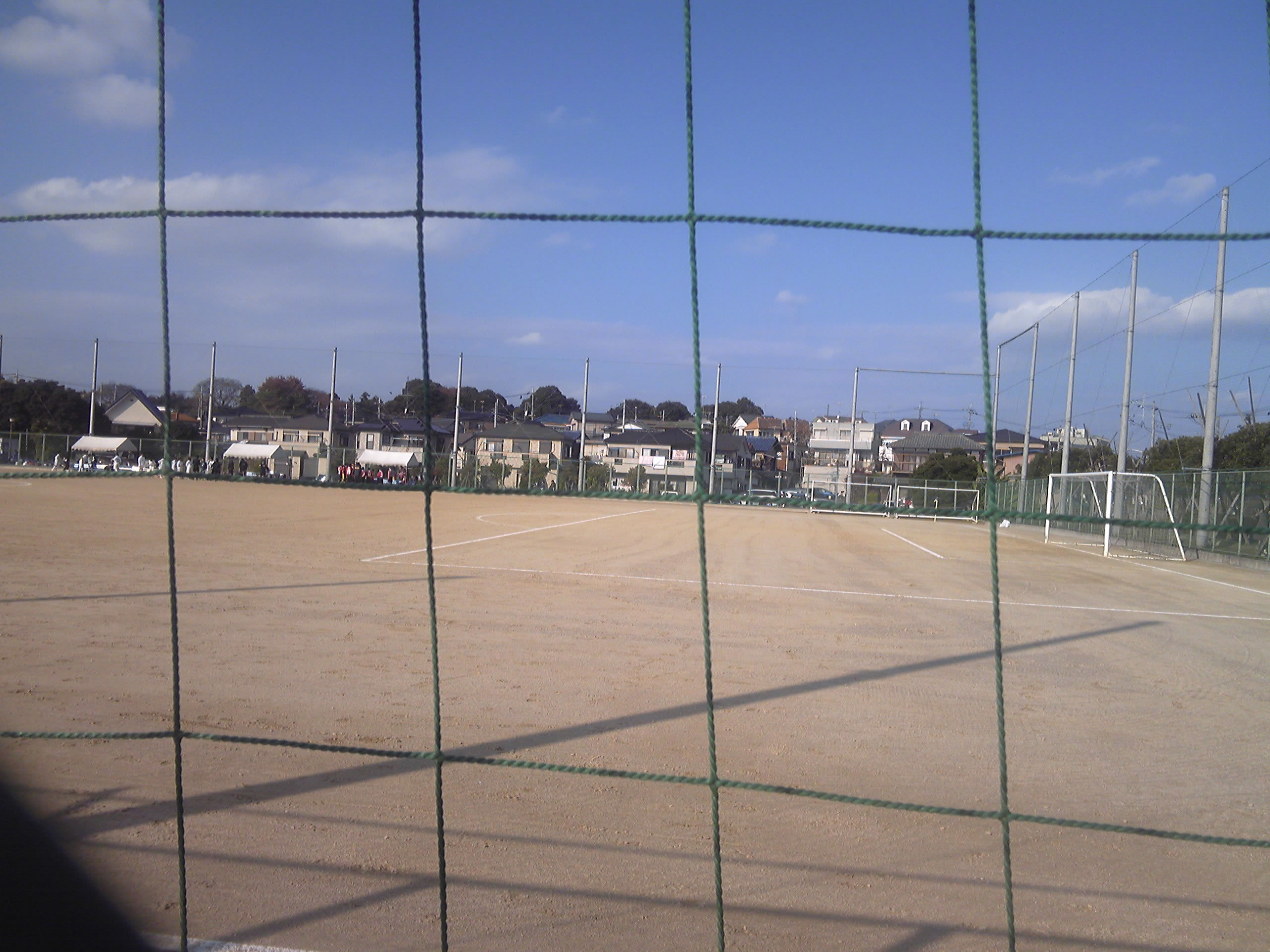 浦和三浦グラウンド(三浦運動公園)2010年11月27日
