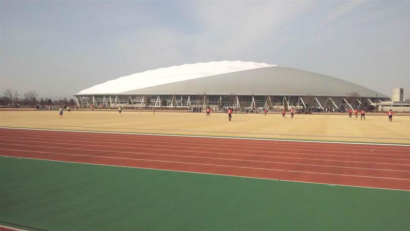 熊谷スポーツ文化公園補助競技場2011年1月29日