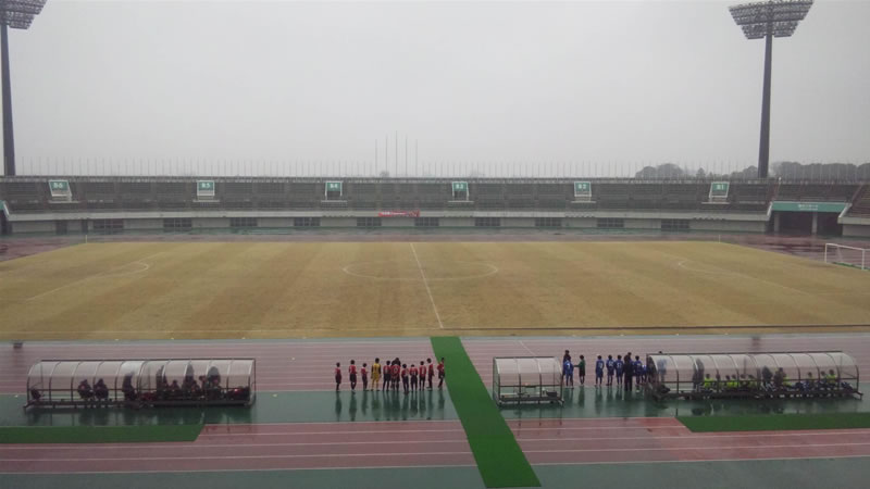 熊谷スポーツ文化公園陸上競技場2011年2月11日