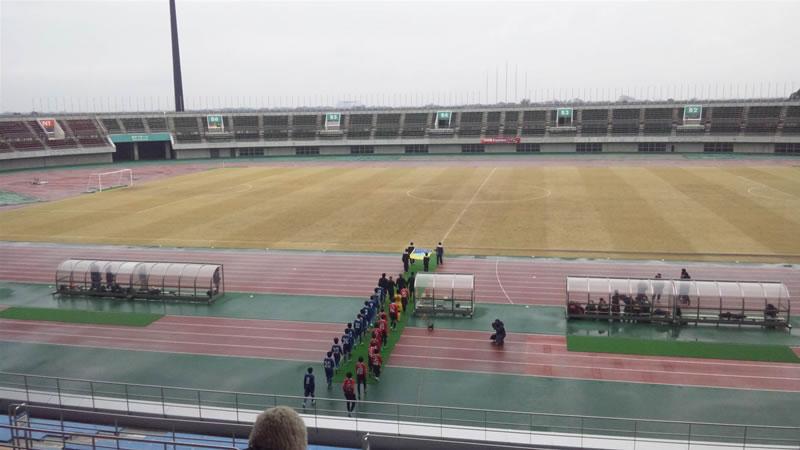 熊谷スポーツ文化公園陸上競技場2011年2月12日