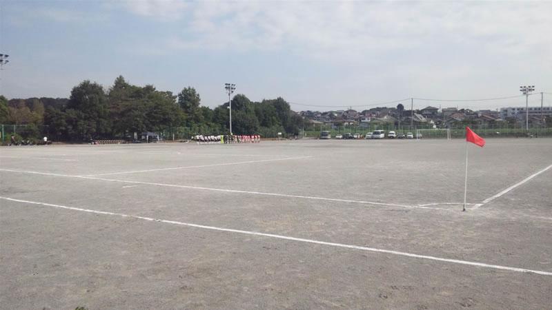 さいたま市立第二東中学校グラウンド2011年10月8日