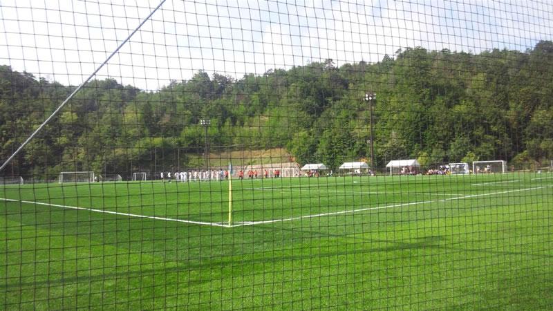 吉田サッカー公園人工芝グラウンド2011年8月24日