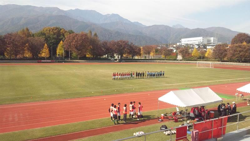 韮崎中央公園陸上競技場2011年11月13日