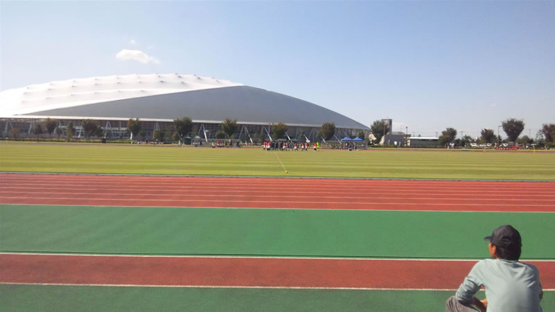 熊谷スポーツ文化公園補助競技場2011年9月24日