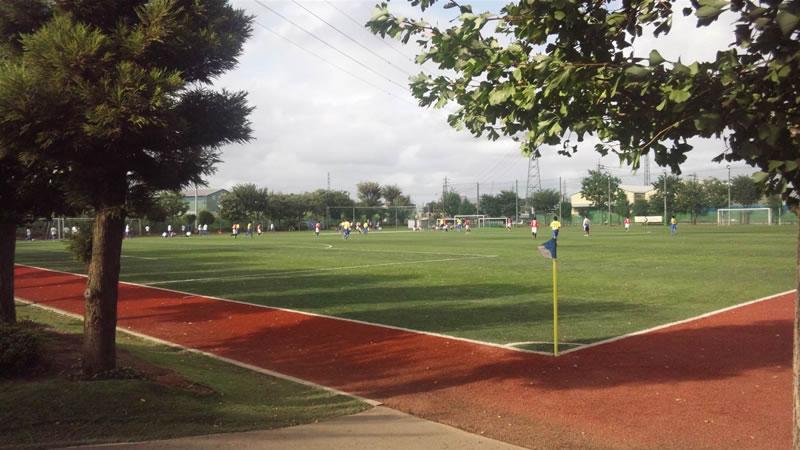 武台高等学校第2グラウンド(人工芝)2011年9月3日