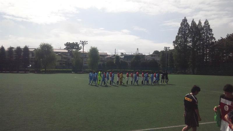 さいたま市浦和駒場スタジアムサブグラウンド2011年9月11日