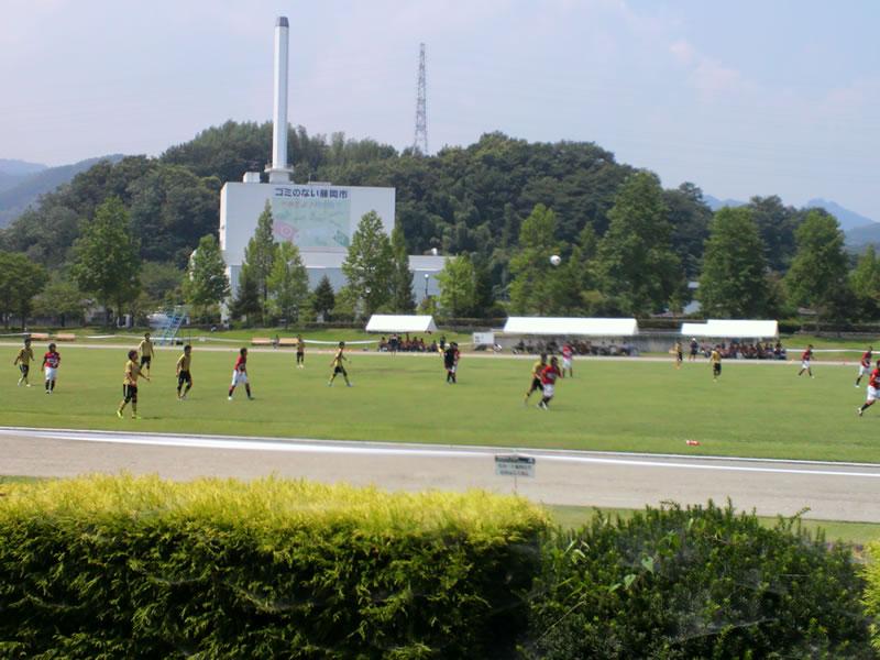 藤岡総合運動公園陸上競技場2012年7月27日