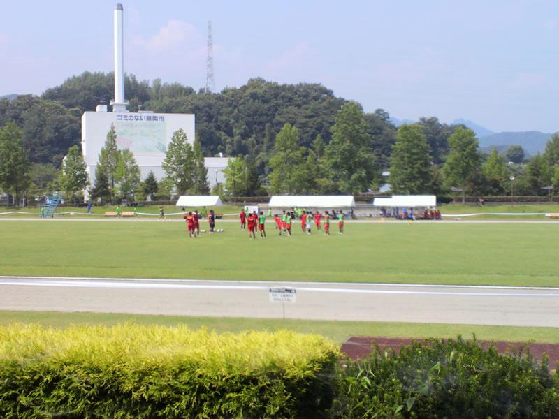 藤岡総合運動公園陸上競技場2012年7月28日