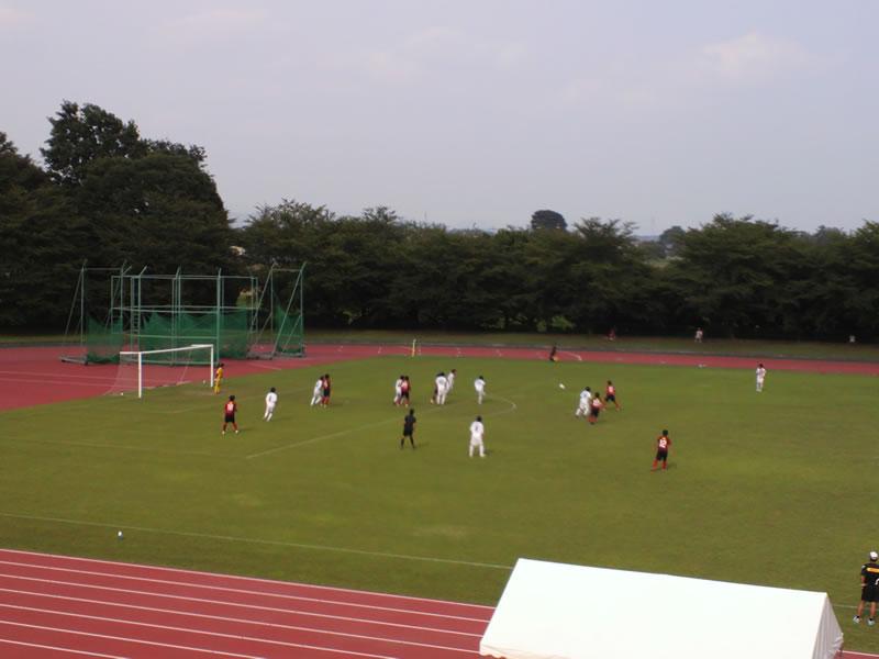 前橋総合運動公園陸上競技・サッカー場2012年7月29日