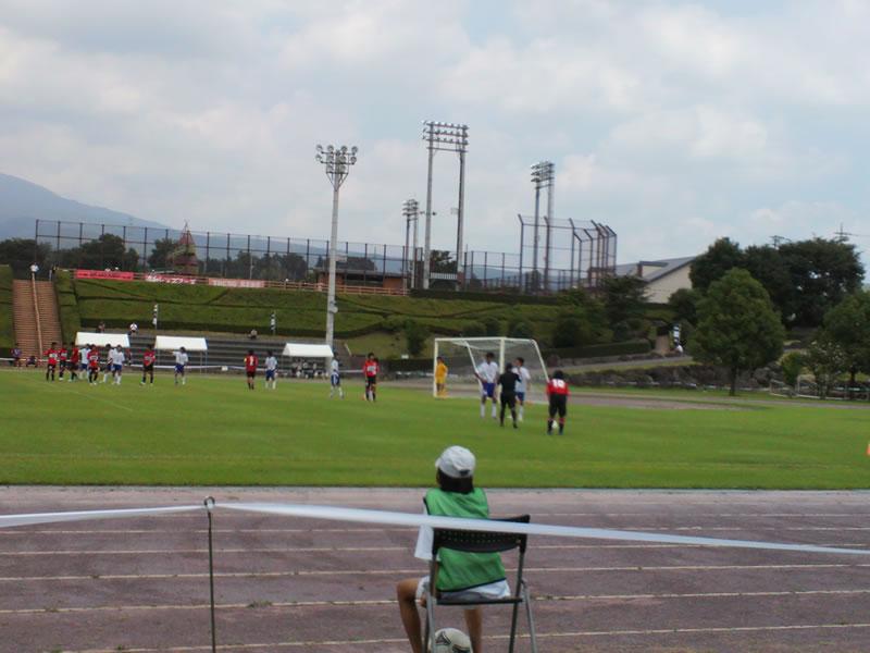 宮城総合運動場・サッカー場2012年8月1日