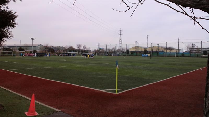 西武台高校第2グラウンド2012年1月22日