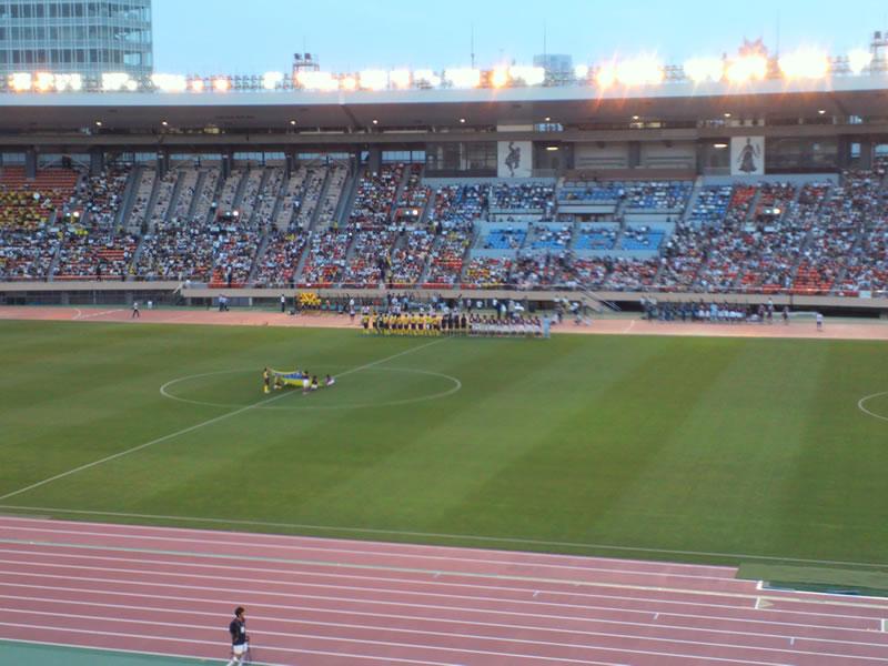 国立競技場2012年7月4日
