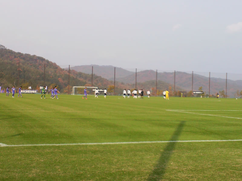 吉田公園サッカー場2012年11月23日