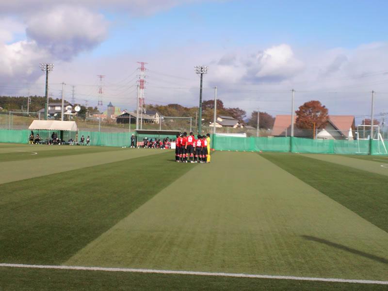 しんとう総合グラウンド2012年11月10日