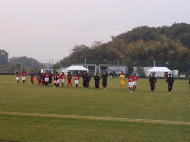 秋葉の森総合公園サッカー場 2012年11月17日