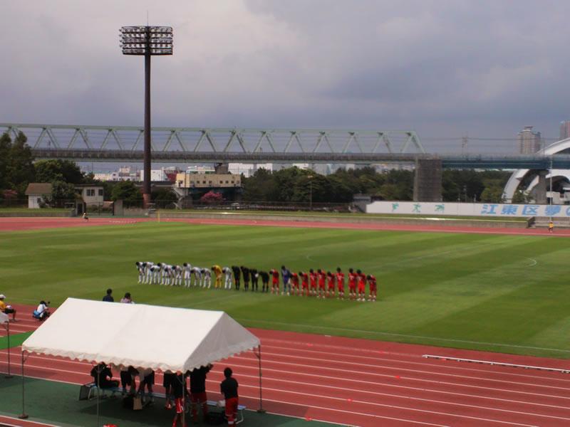 江東区夢の島競技場2012年8月18日