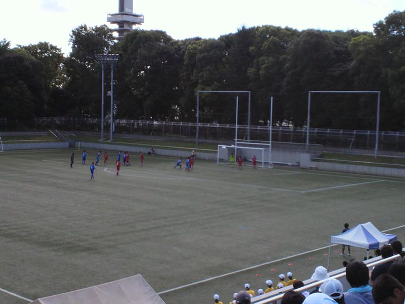 駒沢オリンピック公園総合運動場(第二球技場)2012年8月19日