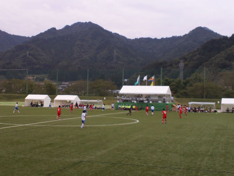杉崎公園グラウンド2012年9月30日