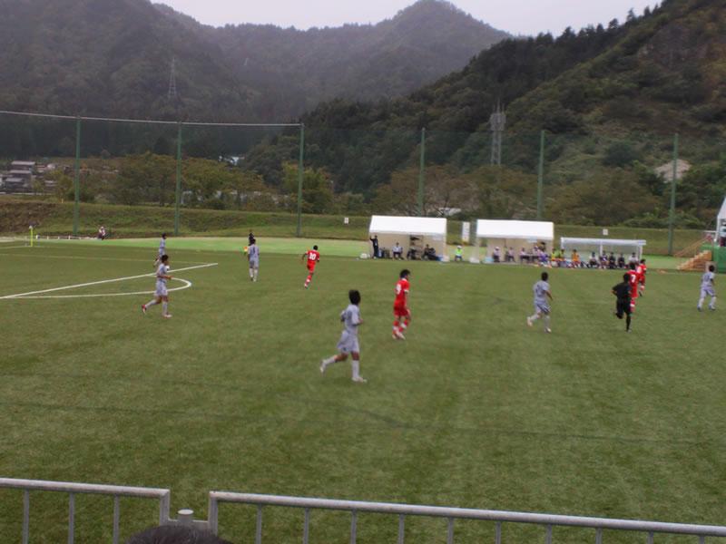 杉崎公園グラウンド2012年10月1日