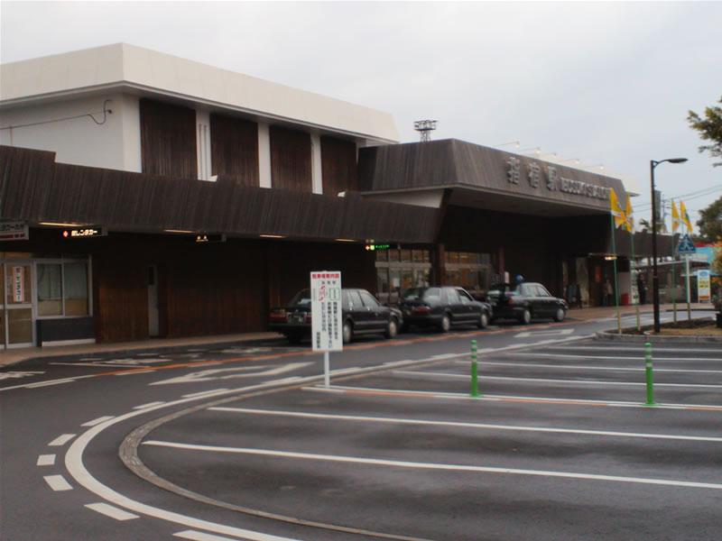 鹿児島・指宿駅2012年02月13日