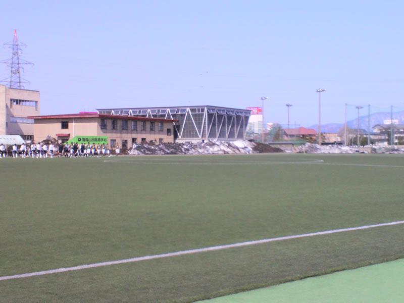 青森山田高校グラウンド2012年4月21日