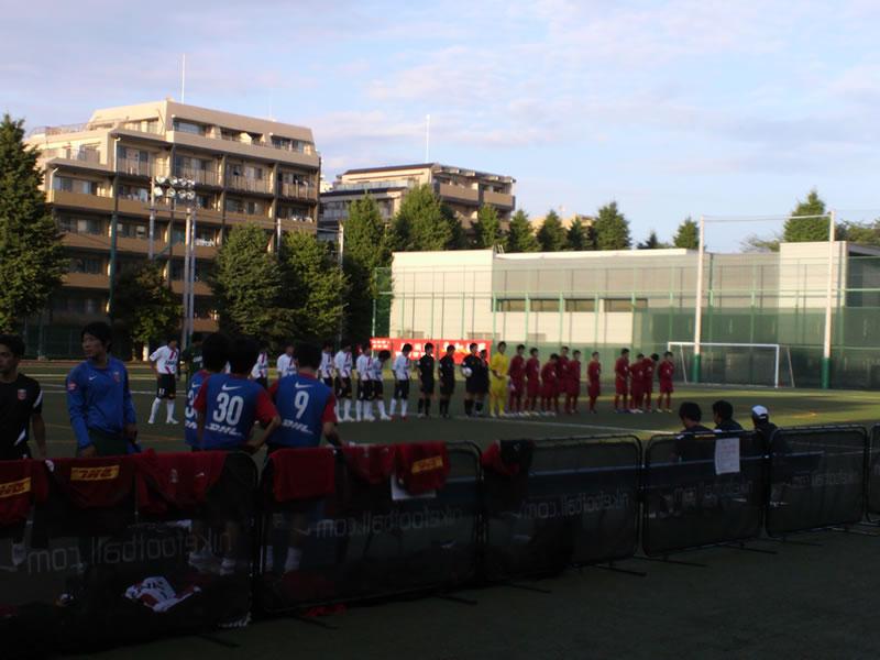 三菱養和会 巣鴨スポーツセンターグラウンド2012年7月8日