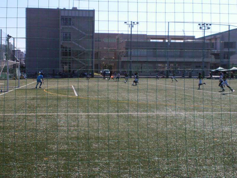 静岡学園高校グラウンド2012年8月26日