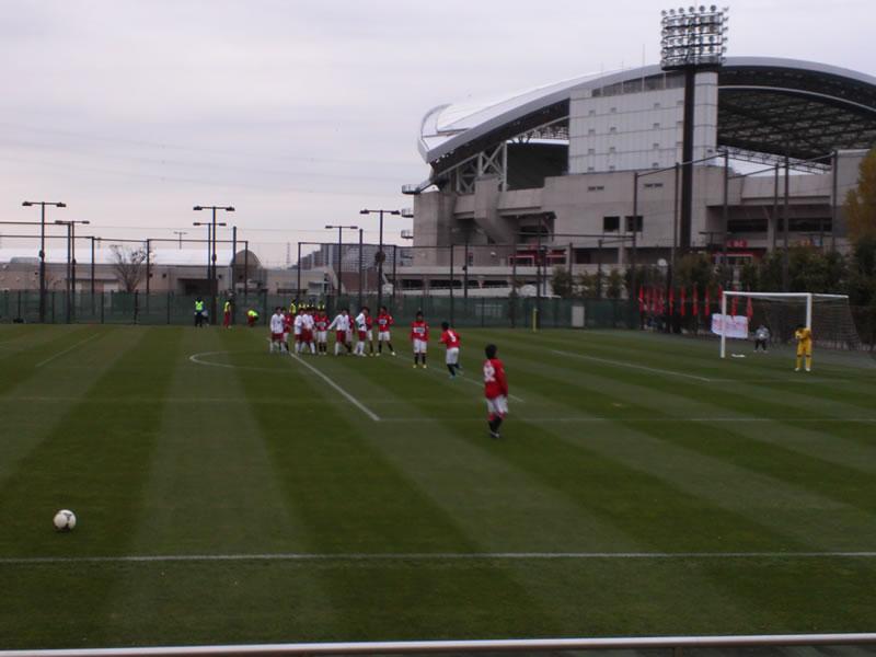 埼玉スタジアム2002 第2グラウンド2012年12月2日