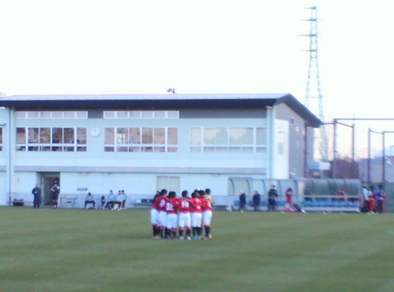 埼玉スタジアム2002 第2グラウンド2012年12月9日