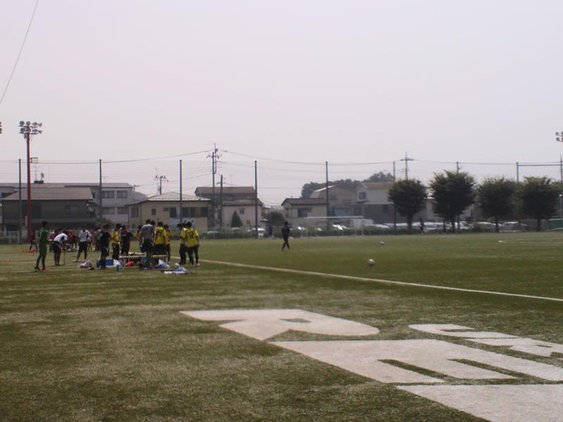 与野八王子グラウンド2012年7月25日